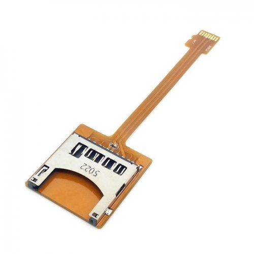 jser Micro SD TF Memory Card Kit Stecker auf SD Buchse Verlängerung Soft Flat FPC Kabel Verlängerung 10cm Memory Card Kit