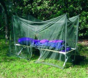 Brettschneider Moskitonetz Camp für Feldbetten und Campingliegen
