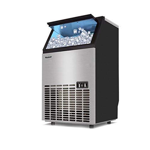 300w Handels-Eismaschine, 66 GroßE EiswüRfelschale, Quadratische EiswüRfelmaschine, Optionale Eisdicke, Zugang Zu Leitungswasser, Filter Weglassen - Isolierte Access-panel