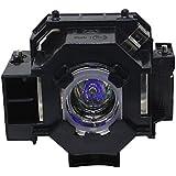 Compatible con ELPLP41 V13H010L41 Bombilla de Repuesto para proyector Epson EB-S62, EB-