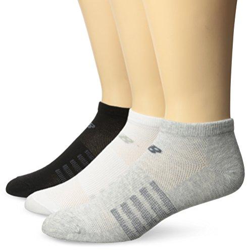 New Balance Unisex 6Pack No Show Lifestyle Socken, Damen herren, Assorted 3, Large