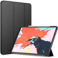 JETech Case for iPad Pro 12.9-Inch (3rd Generation 2018 Model, Edge to Edge Liquid Retina Display), Compatible with Apple Pencil, Cover Auto Wake/Sleep (Black)