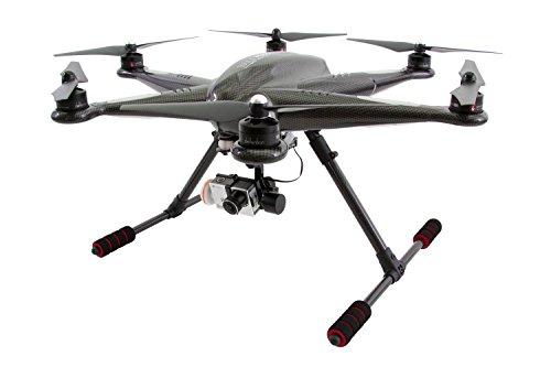 XciteRC 16002100 – Hexacopter H500 RTF FPV-Drohne mit iLook Full HD Kamera, schwarz