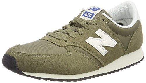 New Balance 420, Zapatillas Unisex Adulto, Verde (Green GRB), 42.5 EU