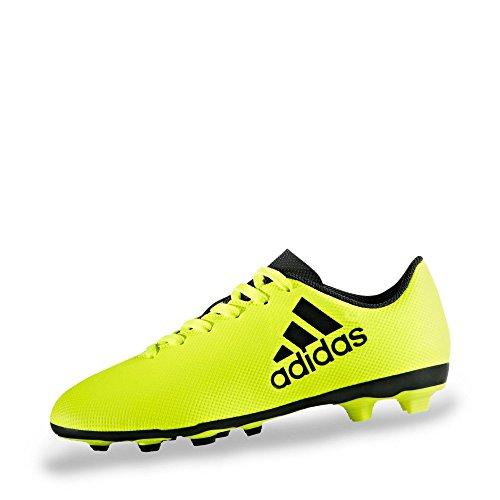 half off 7f212 b7c65 adidas Unisex-Kinder X 17.4 Fxg J Fußballschuhe, Gelb (Amasol Tinley
