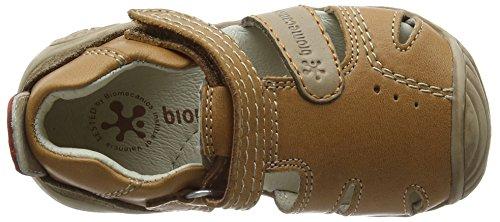 Biomecanics Biogateo, Sandali Unisex – Bimbi 0-24 Brown (Cuero)