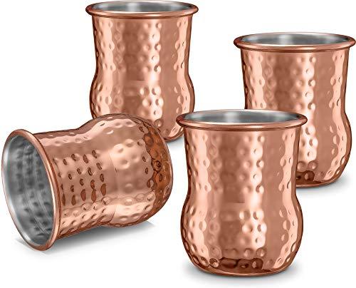 Moscow Mule Schnapsgläser Hammered Copper Shot Glass Jigger