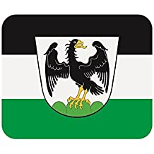 Fahne Aufb/ügler Patch 9 cm x 6 cm Neuware!!! UB Aufn/äher Unterfranken Flagge