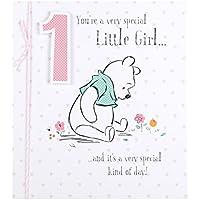 "Hallmark Disney Baby Winnie The Pooh 1st Birthday Card""1"" - Small"