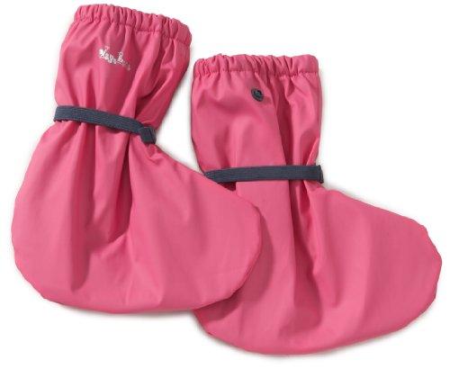 Playshoes Regenfüßling Regenfüßlinge mit Fleece-Futter, verschiedene Farben, Oeko-Tex Standard 100 408911, Unisex-Baby Krabbelschuhe, Pink (pink 18), EU M (Fleece-booties)