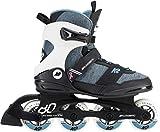 K2 Damen Inline Skates ALEXIS 80 PRO - Schwarz-Grau-Blau - 30D0772.1.1