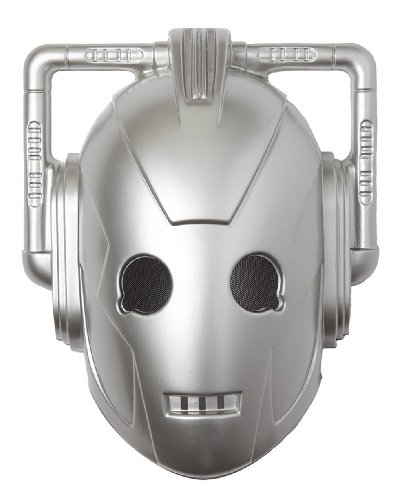 Cyberman Vacuform Costume Mask