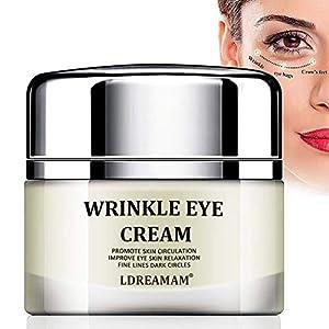 Crema para los Ojos,Contorno Ojos,Crema Contorno Ojos,Eye Cream,Contorno de Ojos Antiarrugas, Anti-edad para ojeras,bolsas,patas de gallo e hinchazón