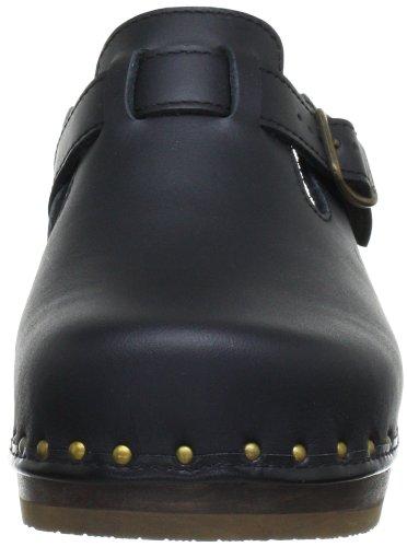 Berkemann Strap-toeffler 00402-900 Zoccoli Unisex-adulto E Muli Neri (nero 900)