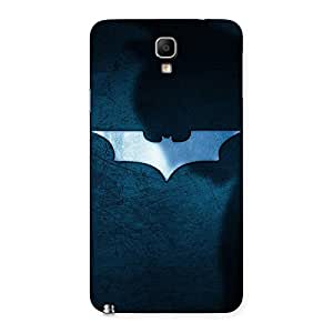 Enticing Blueish Knight Back Case Cover for Galaxy Note 3 Neo