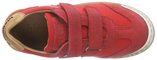 Bisgaard40312116 - Scarpe da Ginnastica Basse Bambino Rosso (Rot (151 True red))