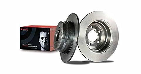 Brembo 09.5802.21 - Disque du Frein Avant avec revêtement anti-corrosion UV - Jeu de 2 disques