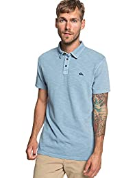 b9bbc09f Quiksilver Everyday Sun Cruise - Short Sleeve Polo Shirt - Men - L - Blue