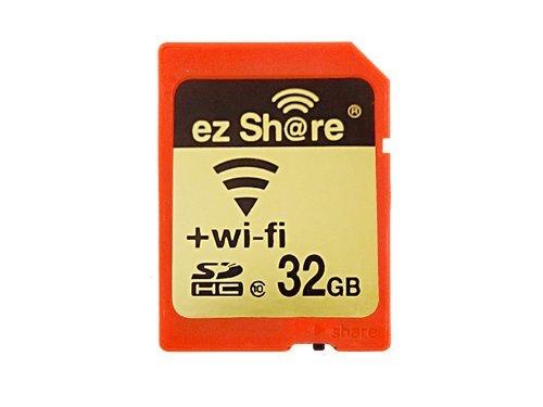 222ff08357b WiFi SD tarjeta de memoria de 32 GB clase 10 2 nd generación EZ compartir