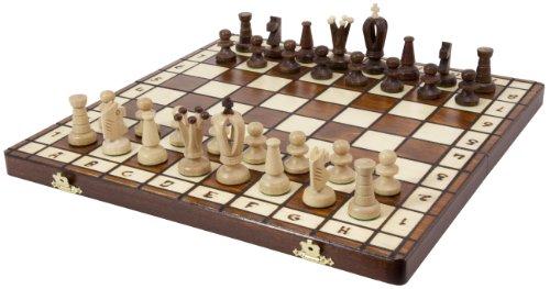 Albatros Holz-Schachspiel ROYAL - Feldgröße: 36 x 36 mm