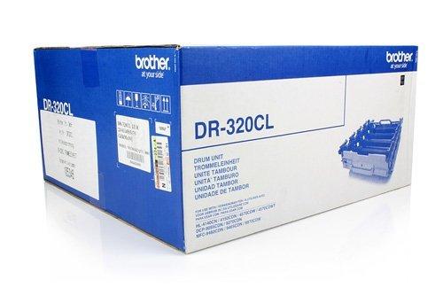 Brother DR320CL - Trommel-Kit - für DCP 9055CDN, 9270CDN HL-4140CN, 4150CDN, 4570CDW, 4570CDWT MFC 9460CDN, 9465CDN, 9970CDW Trommeleinheit / DR-320CL / für ca. 25.000 Seiten A4 / 4 einzelne Trommeln, je 1CMYK / für HL-4150CDN, -4570CDW, -4570CDWT - Trommel-kit