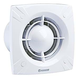 wand ventilator kugellager 150 bad l fter feuchtesensor nachlaufrelais blauberg slim amazon. Black Bedroom Furniture Sets. Home Design Ideas