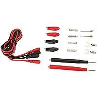 FamilyMall - 1 conjunto de cables multifunción para multímetro (con pinzas de cocodrilo)