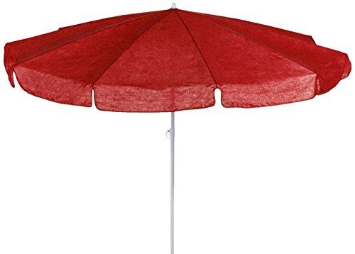 beo MM05 Sonnenschirm 200cm - Sombrilla para patio, color rojo