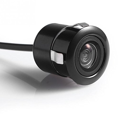 PolarLander Cámara de visión trasera de 18.5mm Cámara de coche HD CCD de aparcamiento Colorido de pantalla de copia de seguridad inversa NTSC / PAL Impermeable