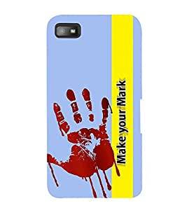 Fiobs Palm Colour for fun Designer Back Case Cover for BlackBerry Z10