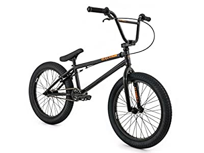 "New Adults Flybikes Fly Electron BMX Bike Black 20"" Frame Kids Boys Girls"