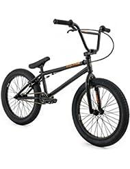 NEW adultes Flybikes Fly Electron Vélo BMX Noir 50,8cm Cadre Enfant Garçons Filles