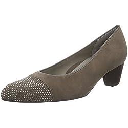 ara Damen Knokke Sneaker, Braun (alpaca 05), 41 EU