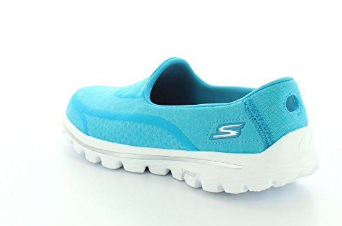 Skechers GO Walk 2 Super Sock Damen Walkingschuhe Aqua