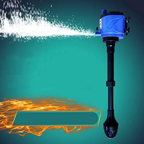 ouying1418 Quiet Aquarium Internal Filter Fish Tank Submersible Pump Fish Tank Air Pump