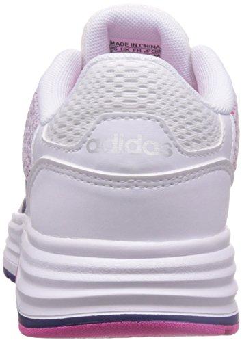 adidas Damen Cloudfoam Flyer W Turnschuhe Blanco (Ftwbla / Puruni / Plamat)