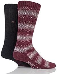 Herren 2 Paar Levis 120SF Klassische Rib Graphic Streifen Cushioned Socken