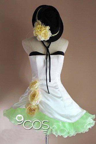 Vocaloid Kamelie Gumi Kleid Cosplay Kostüm+Handschuh+ Hut