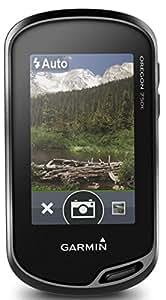 Garmin - Oregon 750 - GPS de randonnée - Ecran couleur tactile 3'' et appareil photo 8Mp - Noir