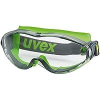 uvex ultrasonic Schutzbrille 9302275 - Kratzfest & Beschlagfrei, 100% UV-400-Schutz - Vollsichtbrille mit Beschichteter Scheibe - Überbrille für Brillenträger