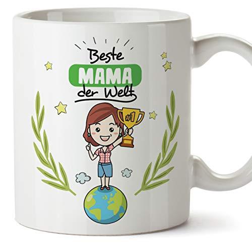 Tasse Mama Geschenk - Beste Mama der Welt - Schöne und lustige Kaffeetasse als Geschenkidee für Mütter/zum Muttertag/zum Geburtstag
