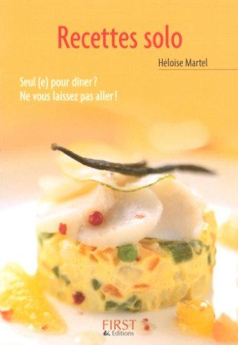 Petit livre de - Les recettes solo (LE PETIT LIVRE) par Héloïse MARTEL