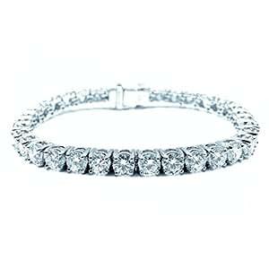 BuyFineDiamonds  -  Pt 950  Platin Brilliant Rund   Feines Weiß/Top Wesselton (G) - Weiß/Wesselton (H) Diamanten