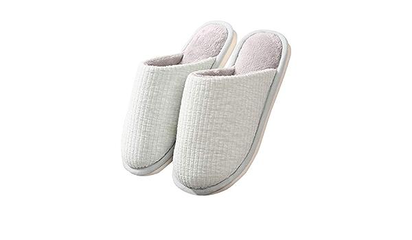 Heim Rutschfeste Schuhe Weich Warm Baumwolle Sandalen Haus Hausschuhe US Größe
