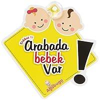 Agubugu Baby AGU-056 Arabada Bebek Var, Sarı