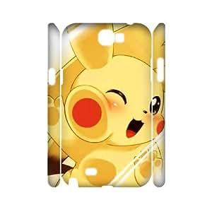 Pikachu Kaktana 3D pour Samsung Galaxy Note 2 Cute-cosplay Pikachu Blanc}, {