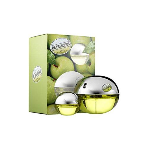DKNY Be Delicious Pour Femme Set de Agua de Perfume Vaporizador - 2 Unidades