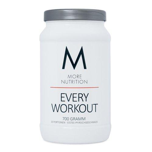 More Nutrition Every Workout Booster. Wach & Fokussiert Bei Jedem Training. Für Bodybuilding Und Kraftsport 1 x 700g (Eistee - Pfirsich)