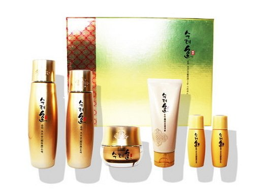 Korean Cosmetics_Sooryehan Yunha Extra Moisturizing 3pc Gift Set_limited edition