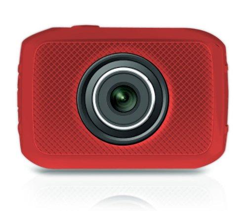 Pyle Hochgeschwindigkeit-HD Digitalkamera (1080p, Full-HD-Video, 12 Megapixel, 6,1 cm (2,4 Zoll) Touch Screen) orange
